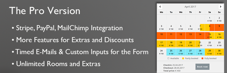 Features of the Pro Version